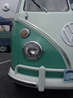 1964 VW 21 Window bus samba deluxe has 2 roof racks