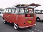 Volkswagen 23 window samba deluxe bus with pressed bumpers