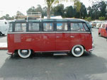 Beautiful vintage Volkswagen 23-window Deluxe samba bus