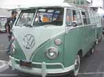 Restored 1963 VW 23-Window samba deluxe bus