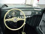 Restoring the dashboard in the 1954 Volkswagen convertible bug