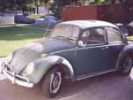66 vw bug; orig condition