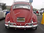 1967 Restored VW bug with cool roof rack