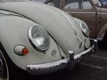 Classic Bullet Turn Signals on a Volkswagen oval window bug