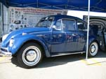 Restored Side of WCM's 1967 Volkswagen bug at VW Classic Show