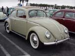 VW oval window bug with factory sunroof