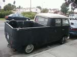 Cool VW Split Window Bus Turned Into a Home-Made Double Cab Pickup Truck