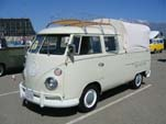 Perfect Volkswagen Double Cab Pickup With Roof Rack and Tilt Cover is Beautifully Restored