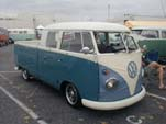 Awesome VW Double Cab Pickup has Safari Windows, BRM Wheels and Custom Bra