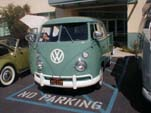 Perfectly Restored Volkswagen Crew Cab Pickup is Painted Factory Correct L380 Turquoise Color