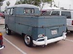 Original 1961 Volkswagen Double Cab Pickup With Those Cool Small Round Glass Taillights