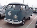 1961 VW Crew Cab Pickup has Those Classic Small Front Turn Signal Housings
