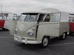 Super Clean Volkswagen Double Cab Pickup Painted in L-472 Beige Gray Stock Color