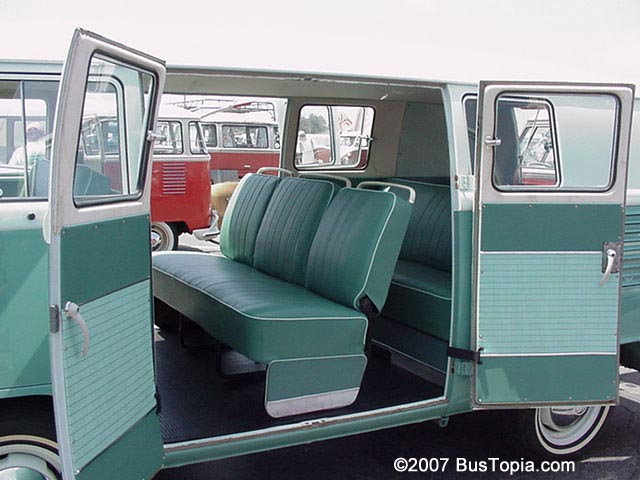 Vintage volkswagen kombi and microbus images from for Vw kombi interior designs