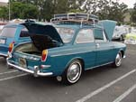 Volkswagen Type-III Notchback Sedan painted L360 Sea Blue