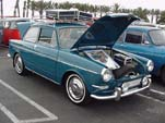 Volkswagen Type-III Notchback Sedan painted original L360 Sea Blue