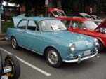 Volkswagen Type-III Notchback Sedan in light blue paint