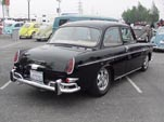 VW Type-III Notch back Sedan painted L-41 Black