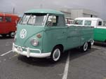 Very Sharp Volkswagen Single Cab Pickup Truck painted Stock L-380 Turquoise Color
