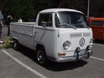 Nice Volkswagen Bay Window Single Cab Pickup Truck Rolling on BRMs