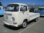 VW Bay Window SingleCab Pickup Truck with the Side Gates folded down