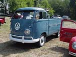 Very Clean 1962 VW Single Cab Pickup in Stock Dove Blue (L-31) paint