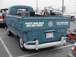 Rare Volkswagen Single Cab Pickup with Special Wider Bed by Westfalia