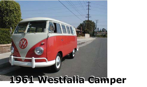 Historation of the restoration of a Volkswagen Westfalia Camper