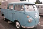 Ultra Rare VW Binz Double Cab Pickup truck in Original Paint and With Canvas Cover Over The Bed