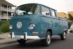 Picture of a Show Room Fresh VW Bay Window Double Cab Pickup