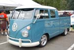 Immaculate Volkswagen Double Cab Pickup Looks Great With Porsche Rims