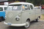 Nicely Restored VW Double Cab Pickup Painted Stock Color: Beige Gray (L472)