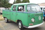 Survivor VW Bay Window Double Cab Pickup Truck With Some Rust in the Rocker Panels