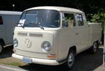 Very Clean Volkswagen Double Cab Pickup has Stock L-87 Pearl White Paint and is a 100-Point VW