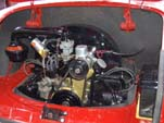 1959 VW Karmann Ghia Engine Compartment