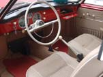 Awesome Interior in 1959 Volkswagen Karmann Ghia Coupe