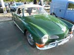 VW Karmann Ghia Convertible Painted Classic Ghia Green