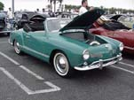Fantastic Vintage VW Karmann Ghia Convertible