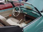 Beautifully Restored VW Karmann Ghia Convertible Interior