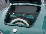 Very Nicely Restored Trunk Area in VW Karmann Ghia Convertible