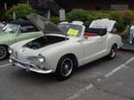 Classic VW Karmann Ghia in White