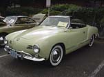 Perfectly Restored VW Karmann Ghia Convertible