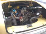 VW Karmann Ghia Engine Compartment