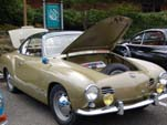 Nicely Restored Vintage VW Karmann Ghia Hardtop