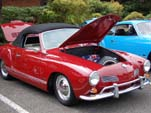Very Cool VW Karmann Ghia Convertible Looks Awesome in Red
