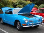 Vintage VW Karmann Ghia Painted Bright Blue