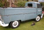 Nice VW Single Cab Pickup with Original patina L31 Dove Blue Paint