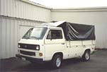 Rare VW Vanagon Single Cab Pickup With Optional Carat Wheels