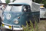 Original VW Single Cab Pickup with canvas tilt cover over the bed