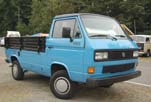 Original VW Vanagon Syncro 4wd Single Cab Pickup truck